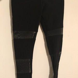 H&M Bandage Mesh Leggings - Size 4